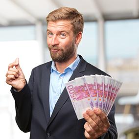 Schritt 3: Übergabe des Pfandobjektes & sofortige Bargeldauszahlung